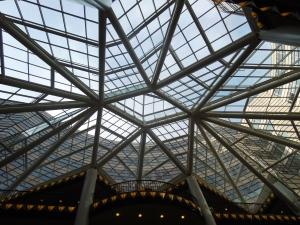 Cupola nella Galleria Lafayette di Berlino